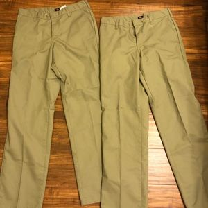 Other - Two pairs of men's khaki pants size 30x32